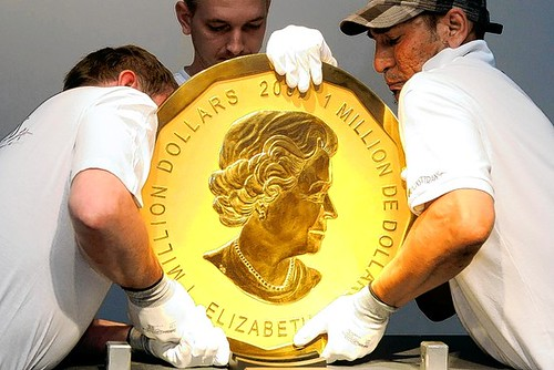 Big Gold Coin