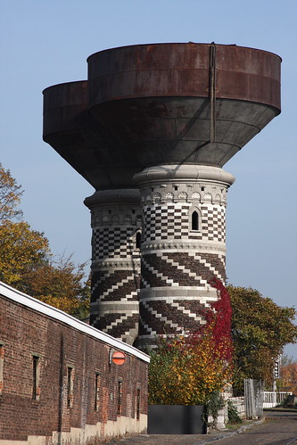 Water Towers. Northwest Antwerp.