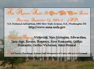 The Autumn Stroll: A Those Who Mourn Event, Sat Sep 25, 2010, 1 - 5PM, U.S. National Arboretum