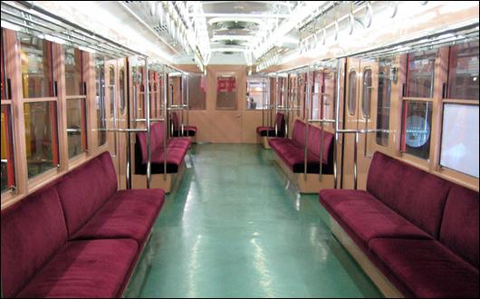 地下鉄博物館 丸ノ内線301号車