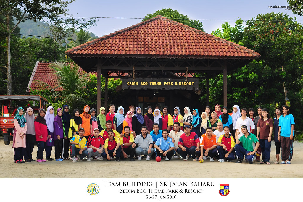 Group Shot | Team Building SKJB | Sedim Eco Park (by Sir Mart Outdoorgraphy™)