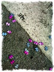 Puzzled path #2 (Magnus A.) Tags: puzzle crosswalk asphalt mlaga magnusakselvoll