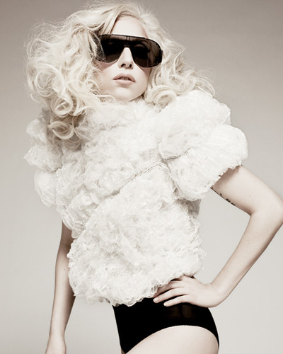 Lady Gaga ELLE photoshoot