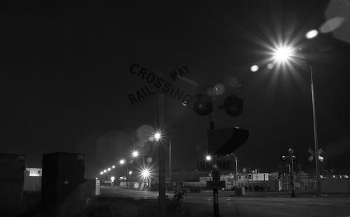 Railway Crossing - Christchurch, Canterbury