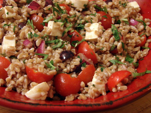 From food52: Summer Farro Salad | Last Night's Dinner®