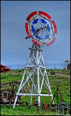 HDR #592 - Windmill (Pete's Photo Magic) Tags: usa psp montana pentax hdr topaz photomatix k20d