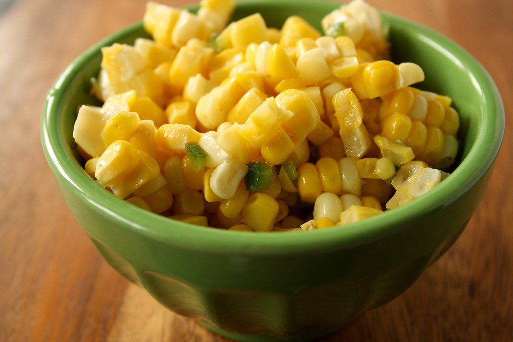 Fresh Corn Moon Salad