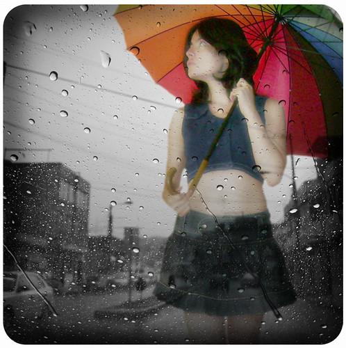 En estos días de lluvia...