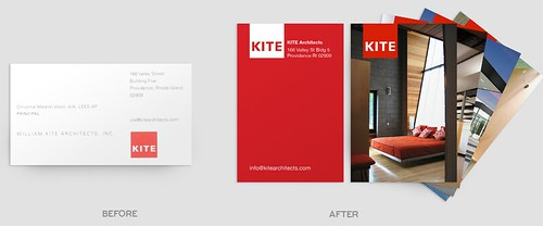 Before & After Business Cards