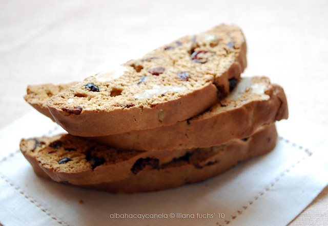 Fruity biscotti