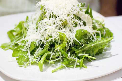 arugula and asparagus salad