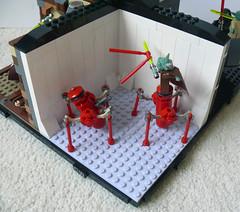 Yoda - A Tribute: Clone Wars - The Battle of Ilum (Oky - Space Ranger) Tags: star yoda lego battle tribute vs wars clone chameleon episode droids ilum