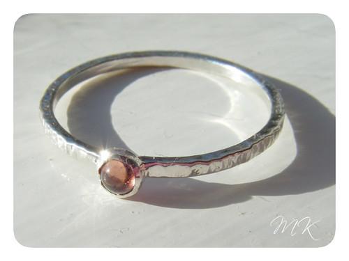 sterling garnet ring 3
