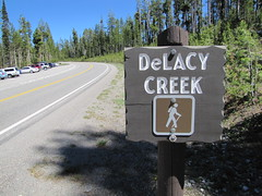 DeLacy Creek Trailhead Photo