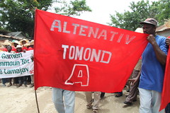 anti monsanto demo in haiti (teqmin) Tags: usaid demo haiti corn farmers rally mpp monsanto hinche haitianpeasants gmofreeworld usforeignaid tminskyixnetcomcom antimonstanto foodsoverignty