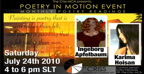 mca poetry in motion event