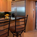 Private elevator from enclosed parking to all levels of your residence