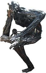 Pensador (Pipe Ruiz) Tags: escultura felipe ruiz chatarra metamorfosis
