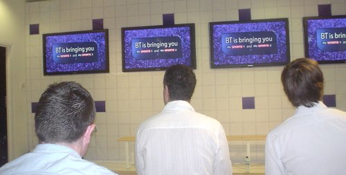 BT Vision Sky Sports launch