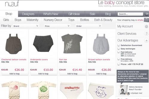 Moda infantil y accesorios, tienda online Noeuf
