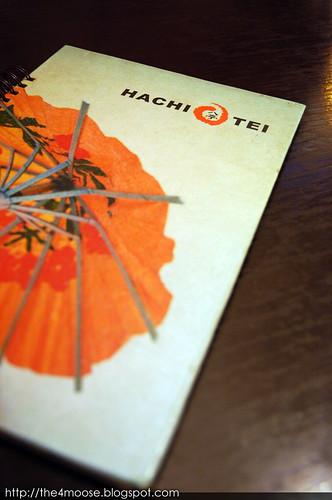 Hachi Tei - Menu