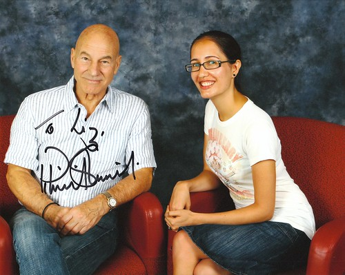 Sir Patrick Stewart Himself!