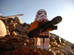 Squadron Leader (Cristian Armendariz) Tags: new sunset storm trooper mountains mexico photography star sand desert lego stormtrooper wars custom tatooine dewback sandtrooper pauldron mmcb