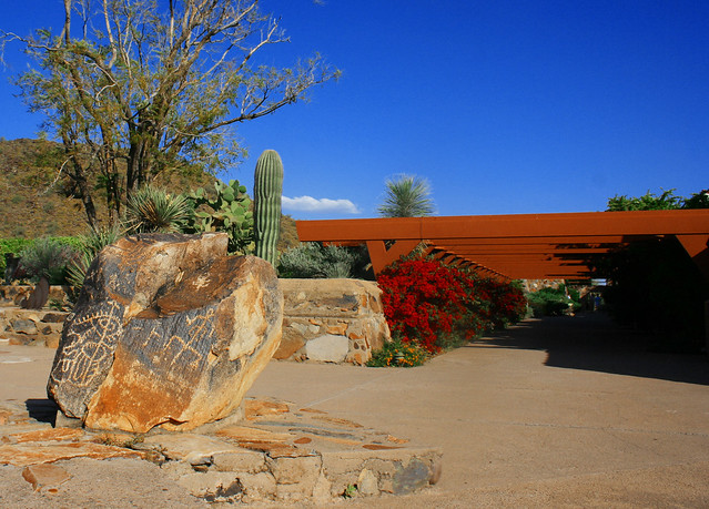 Taliesin West, Petroglyph Rock