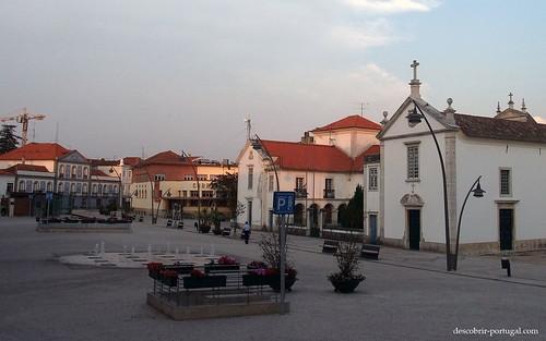 Uma praça de Aveiro
