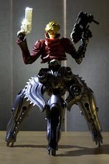 Shiny Gun (katsuboy) Tags: anime japan toys japanese robots custom figures trigun cyborgs kaiyodo vashthestampede revoltech jfigure assembleborg mrassemble ghostgunner