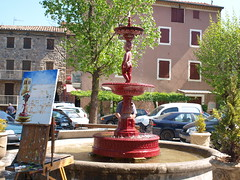 place (Janphi63) Tags: france europe place glise ardeche rhonealpes antraiguessurvolane