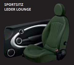 Leder Lounge Classic Green