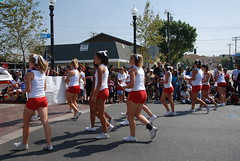 HART HIGH SCHOOL CHEER (Navymailman) Tags: california santa old town 4 4th july parade fourth 2010 clarita newhall of