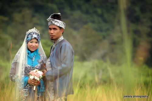 outdoor portraiture | wazir & fauziah