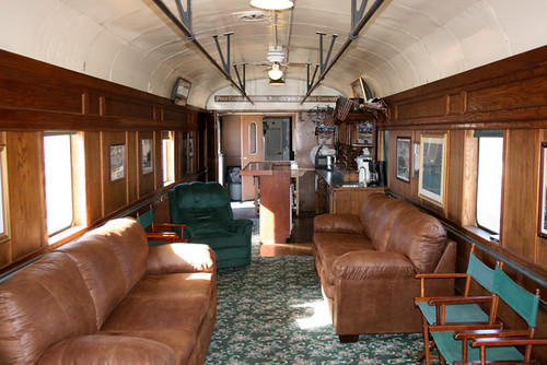 Private Rail Car - Pony Express, the lounge