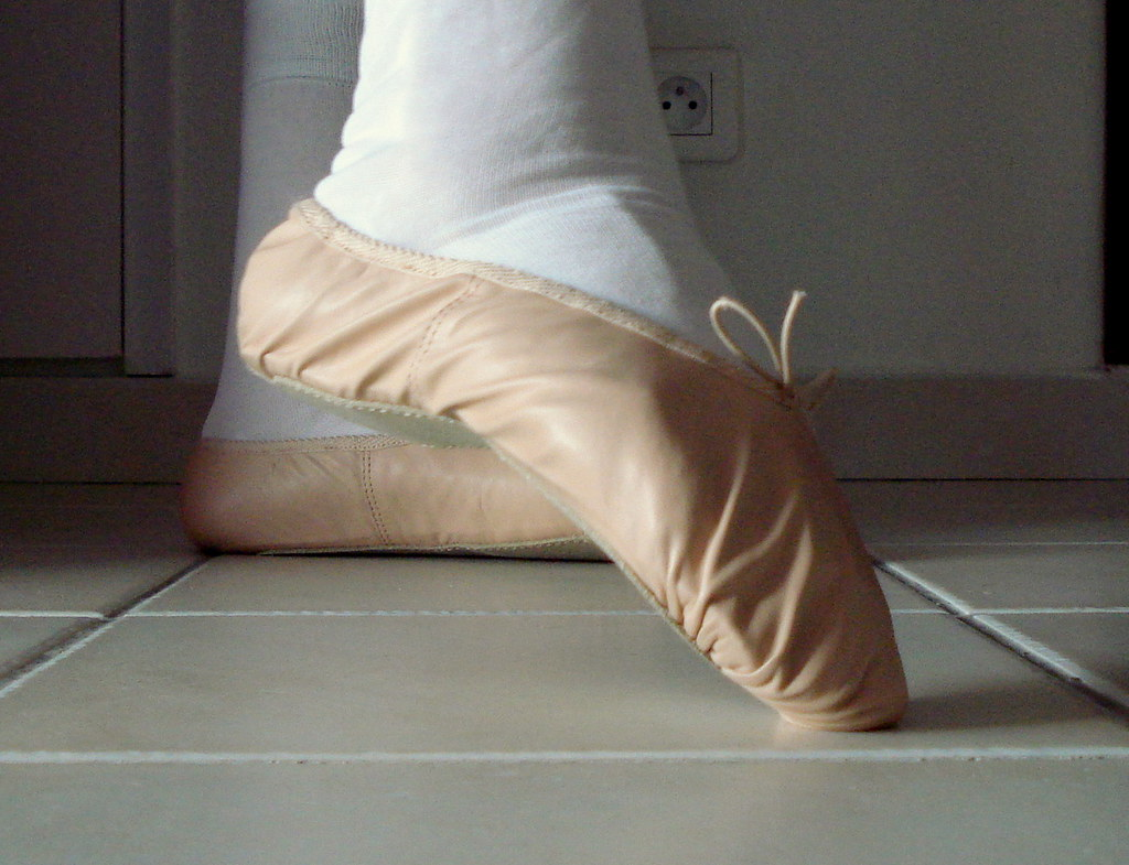 Think, what footjob in ballet slippers