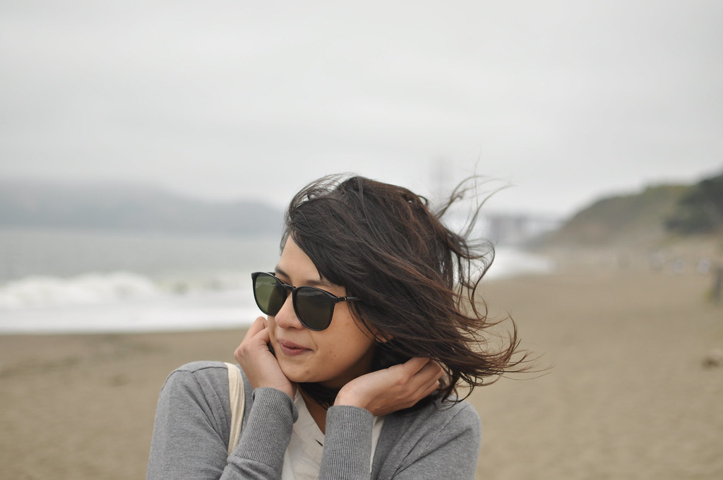 date at baker beach