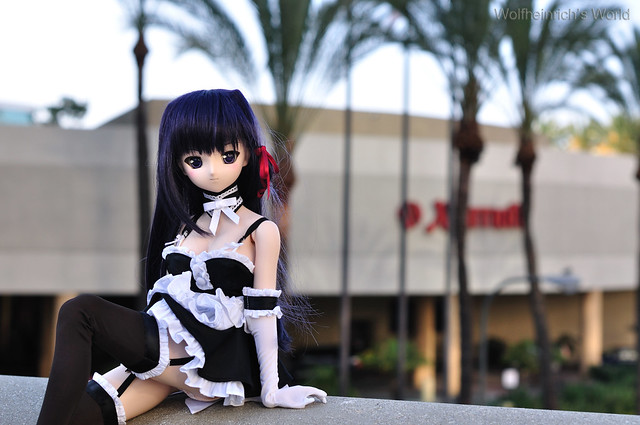 Volks Dollfie Dream ドルフィー DD娃娃 Kiriha Kuze 紅瀬桐葉 in Los Angeles outside Marriott Downtown
