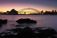 Opera House & Harbour Bridge / 雪梨歌劇院&港灣大橋 (kth517) Tags: sydney australia operahouse harbourbridge 澳洲 雪梨 黃昏 雪梨歌劇院 港灣大橋