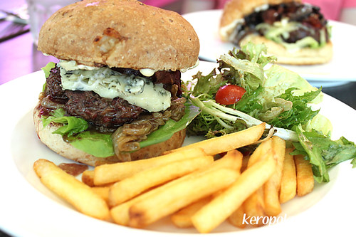 Blue Cheese Burger