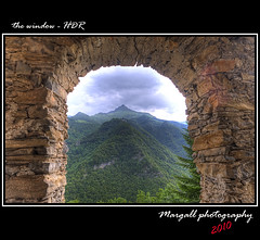 The window - HDR by Margall