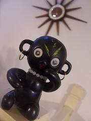 Dakko Chan Doll (Black-Afro) Tags: vintage kitsch retro midcentury mcm blacklady retroliving vintagefigurine dakkochandoll kitschfigurine afrofigurine 50sfigurine 60sfigurine midcenturyfigurine