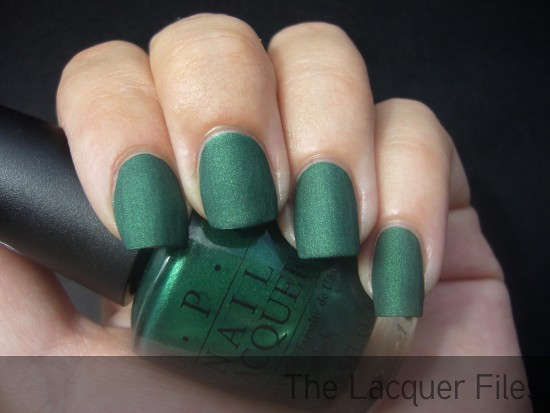 OPI Here Today, Aragon Tomorrow Suede 2010 Suede
