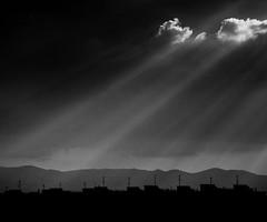transmission (-dubliner-) Tags: light sky clouds landscape rays dubliner
