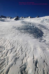 Franz Josef, Franz Josef Glacier, aerial view (blauepics) Tags: