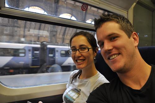 On the Train to Cambridge!
