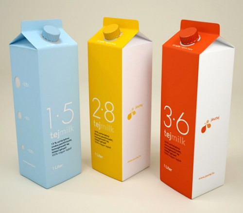 Touchey – Packaging 35 creative food packages