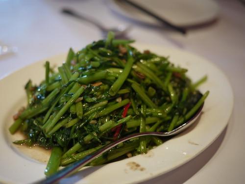 瓦城 - 蝦醬辣炒空心菜
