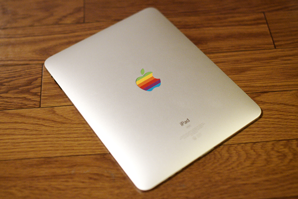 iPad Rainbow Apple