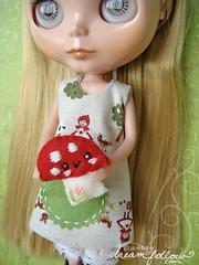 mushroom pocket dress
